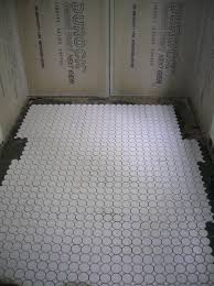 bathroom floor tile hexagon. Perfect Hexagon Bathroom Tile On Shower Floor Simple White Vintage
