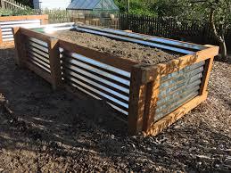 galvanized metal raised gardeneds corrugated iron perth how touild