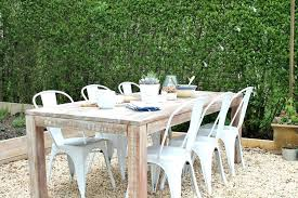 josain patio furniture farmhouse table outdoors patio challenge before after with main teak outdoor