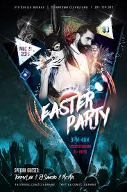 Easter Party Flyer Free Psd Flyer Template Free Psd Flyer
