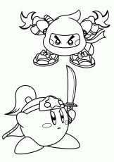 Small Picture All Meta Knight Coloring Pages Coloring Pages For All Ages