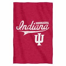 indiana hoosiers ncaa sweatshirt throw