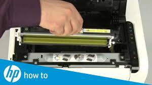 Hp Printer Light Keeps Blinking Replacing A Cartridge Hp Laserjet Pro Cp1025nw Color Printer