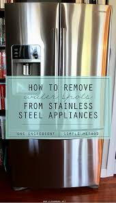 Non Stainless Steel Appliances Stainless Steel Archives Clean Mama