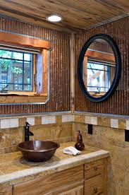 Corrugated Metal Interior Design Colored Corrugated Metal Siding Bathroom Wall 1 1 4 Corrugated