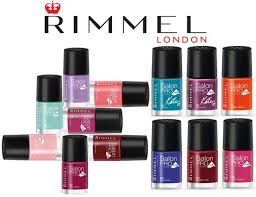 Rimmel Kate Salon Pro With Lycra Nail Polish Green Blue Orange Red Choose
