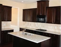 Kitchen Backsplash Ideas With Dark Wood Cabinets decorating