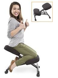 ergonomic chair kneeling. Unique Chair ProErgo Ergonomic Kneeling Chair Adjustable Height  Office Seating With  An Edge Perfect For Throughout E
