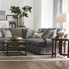 Sutton L Shaped Sectional Living Room Furniture Bassett Furniture