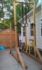 outdoor pull up bar and parallel bars diy fitness diy gymnastic ring stand clublilobal com