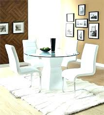 modern round dining room tables chairs for table image set decoration ideas wood r