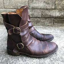 Fiorentini Baker Size Chart Details About Fiorentini Baker 713 Eternity 2 Buckle Boot Dark Brown Men Eu 42 Us 9 5 10