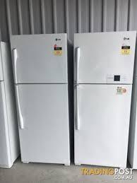 lg fridge freezer. late model 422l lg fridge freezer delivery warranty