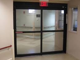 automatic single slide door