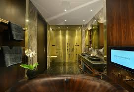 Luxury Apartments At One Tower Bridge London Boast Of Wooden - Luxury bathrooms london