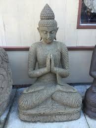 garden buddha. Stone Namaste Garden Buddha Statue 48\ A