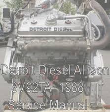 details about detroit diesel allison 8v92ta 1988 service repair details about detroit diesel allison 8v92ta 1988 service repair workshop engine manual pdf cd