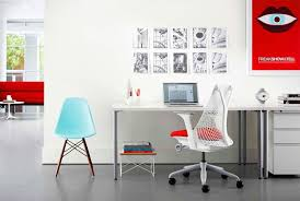 wall office desk. interesting desk 30 stylish home office desk chairs from casual to ergonomic with wall