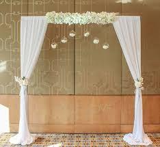 indoor wedding arches. crown towers wedding arch indoor arches
