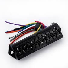 v way circuit car automotive blade fuse box block holder atc this 12 way fuse box in sturdy construction can be used in automotive electronic field motorsport applications electrical devices trailers cars boats