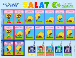 Salat Chart Lets Learn Salat And Surahs Two Sided Poster Girls