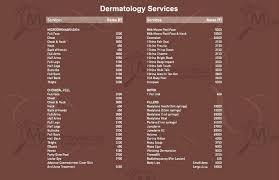 Lakme Salon Price Chart Vlcc Pitampura