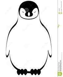 Schattige Pinguin Kleurplaat The Gentleman Penguin Coloring Page