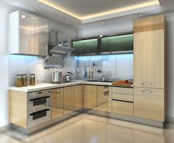 Aluminium Kitchen Cabinet Price Lacquer Kitchen Cabinet Simple