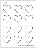 Small Picture Best 25 Heart template ideas on Pinterest Printable hearts