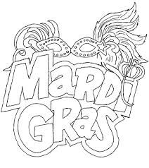 Small Picture The Carnival Season Of Mardi Gras Coloring Pages Kids Coloring
