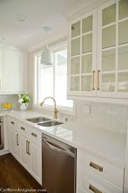 Kitchen Remodel Using Ikea Cabinets Champagne Bronze Cabinet Knobs
