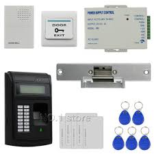 Touch Button 125KHz Rfid ID Card Reader Door Access Control ...