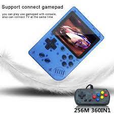 Video Mini Tay Cầm Chơi Game 8 Bit Retro Bỏ Túi Máy Chơi Game Cầm Tay