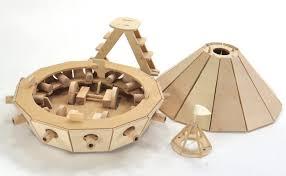 da vinci wooden model kit armored tank