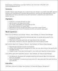 Sales Resume Sales Lead Resume Samples Retail Sales Manager Resume