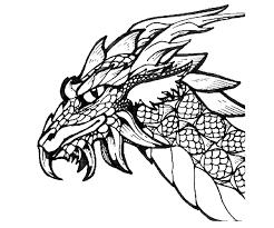 Draken Vind En Print Bliksemsnel Een Kleurplaat Ukkonl