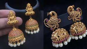 Artificial Jhumka Designs With Price Artificial Temple Jewellery Jhumkas Where To Shop Them
