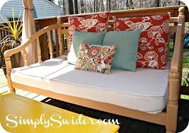 cushion covers outdoor how to make cushion covers out of a canvas drop cloth plastic cushion