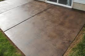 Modern Staining Concrete Patio Home Ideas Collection How To