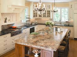 Fake Granite Kitchen Countertops Kitchen Butcher Block Countertops Cost For Adding Extra Workspace
