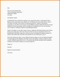 Letter For Sponsorship For Event Sample Proposal Letter Template