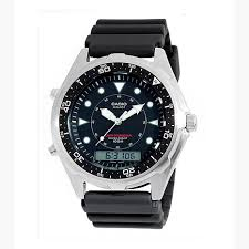 men s analog digital alarm chronograph dive watch 6873511 hsn casio men s analog digital alarm chronograph dive watch
