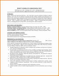12 Physician Curriculum Vitae Sample Letter Signature
