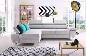 Molina Mini Schlaffunktion Wohnlandschaft Relaxfunktion Couchgarnitur Couch Sofa