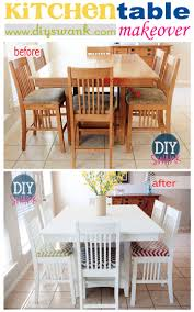 diy furniture makeover. Before And After: Kitchen Table Makeover Diy Furniture I