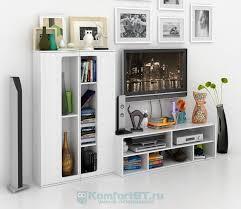 Купить стенку для <b>гостиной Мастер Арто</b>-5201 белый в г. Москва ...