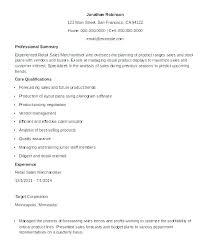 Merchandiser Resume Objective Twnctry