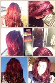 My Hair Color Outside And Inside