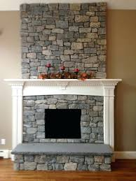 stone veneer fireplace by color for new natural thin panels refacing a with dry