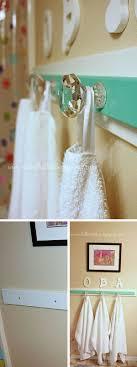 Decorative Bathroom Towel Hooks 17 Best Ideas About Bathroom Towel Hooks On Pinterest Diy